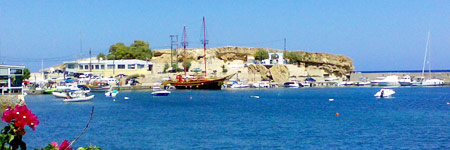 Chersonissos port